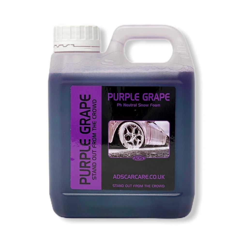 Purple Grape Neutral Snow foam